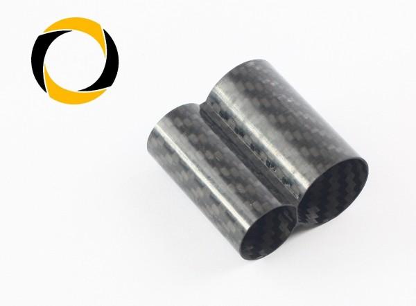 Carbon Doppelrohr für Premiumrohr