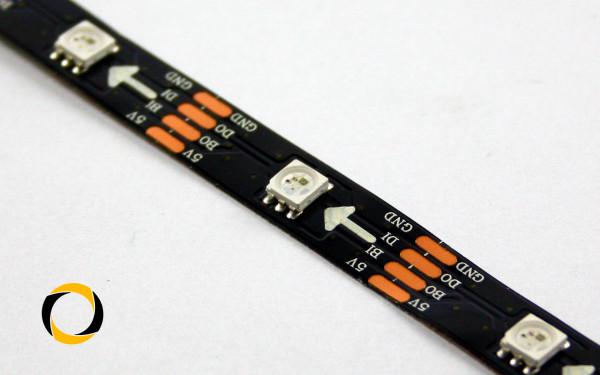 RGB LED stripe mit WS2813B LEDs (30 LEDs/m) 5m Rolle