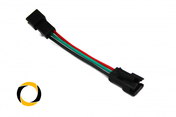 LED Adapterkabel Male/Male RGB 3-Pin