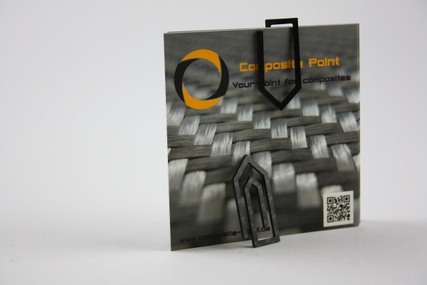 XXL Carbon Büroklammer 5er Pack