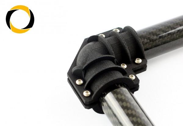 Carbon Rohr L-Verbinder Gimbal