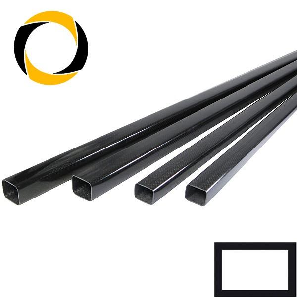 CFK-Quadratrohr gewickelt 35x35x1,3x1000 mm