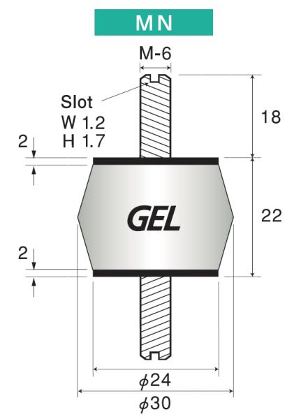 Taica Silikon-Gel-Dämpfer α-Gel