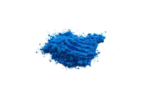 Farbpigment Blau fluoreszierend